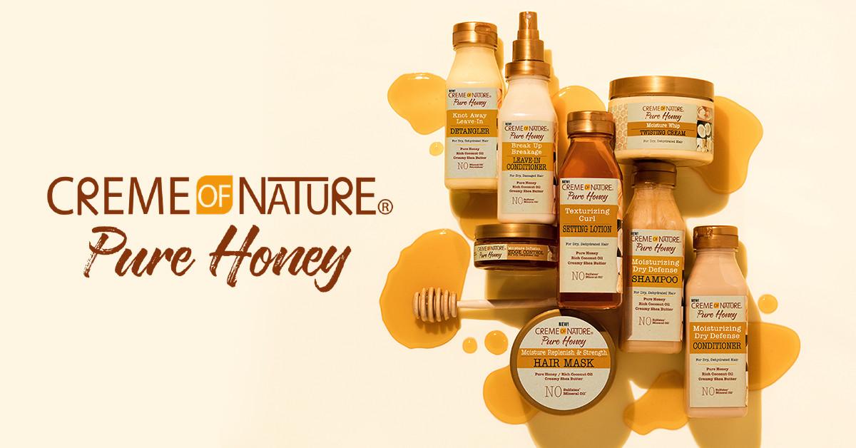 Creme of Nature Pure Honey