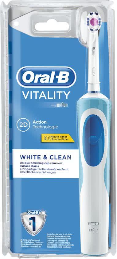 Oral B Electrische Tandenborstel Vitality Pro White D12 Stuk