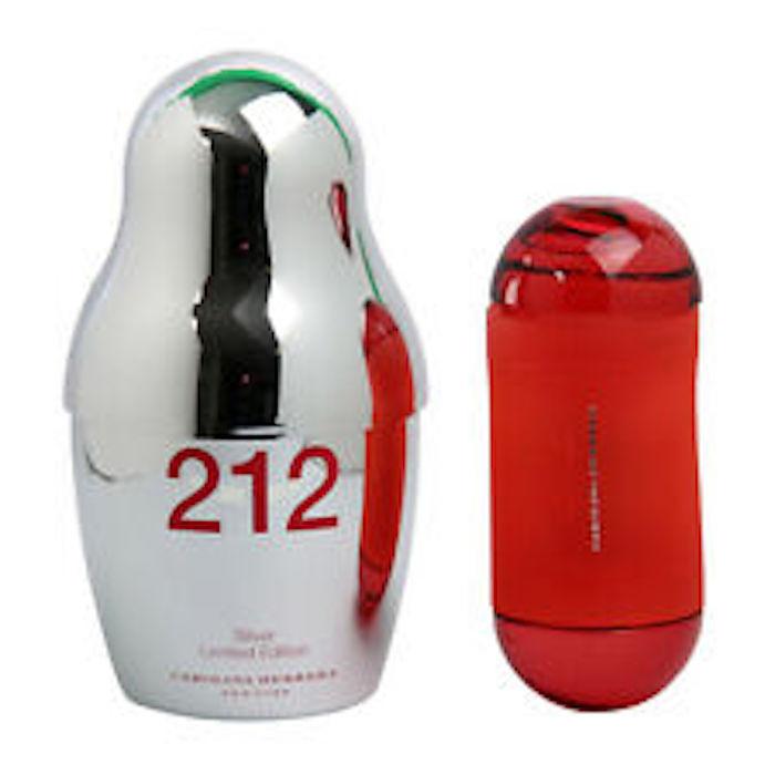 Productafbeelding van Carolina Herrera 212 Silver Limited Edition EDT Spray Women 60ml