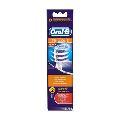 Oral B Opzetborstels Trizone 2stuks