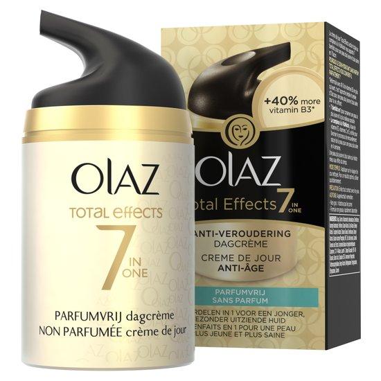 Olaz Total Effects Dagcreme Parfumvrij 50ml