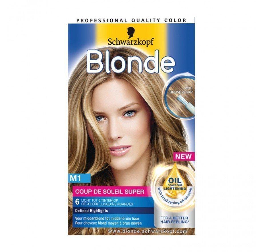 Schwarzkopf Poly Blonde Coupe De Soleil Super 50ml