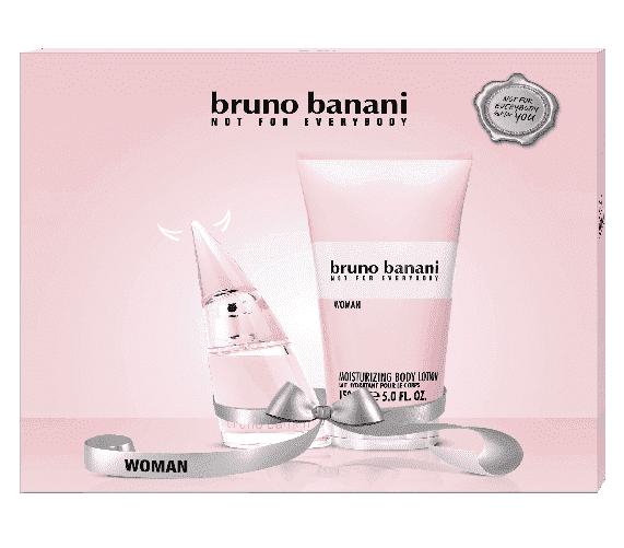 Productafbeelding van Bruno Banani Woman Giftset - Eau De Toilette 20ml + Bodylotion 150ml
