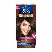 Schwarzkopf Poly Color Creme-Haarverf 41 Middenbruin