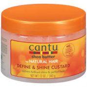 Cantu for Natural Hair Define and Shine Custard 355 ml