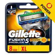 Gillette Fusion5 ProGlide Power Razor Blades 8st