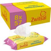 Zwitsal Sensitive Billendoekjes Voordeelverpakking 8x57=456 doekjes