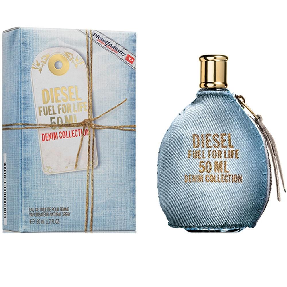 Productafbeelding van Diesel Fuel For Life Denim Collection Pour Homme 50ml