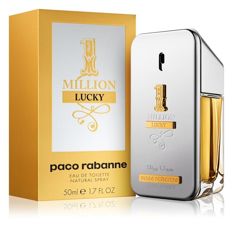 Productafbeelding van Paco Rabanne 1 Million Lucky Eau De Toilette 50ml