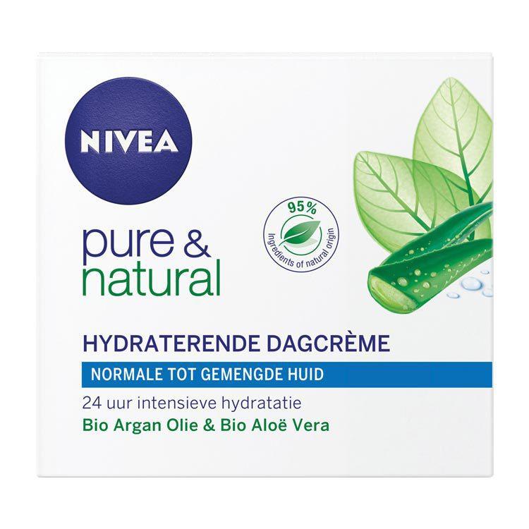 Nivea Visage Dagcreme Pure and Natural N-M 50ml