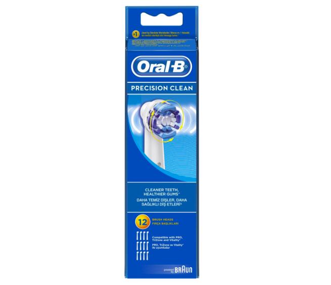 Oral-B Precision Clean Elektrische Opzetborstels Rond 12 Stuks