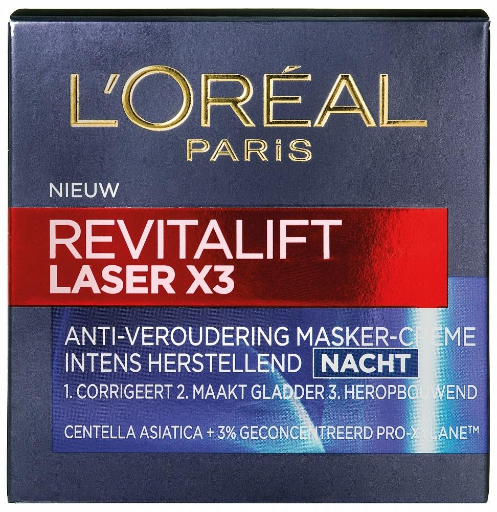 Loreal Paris Dermo Expertise Paris Revitalift Laser X3 Nachtcreme 50ml
