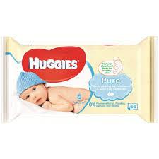 Huggies babydoekjes pure 56 stuks